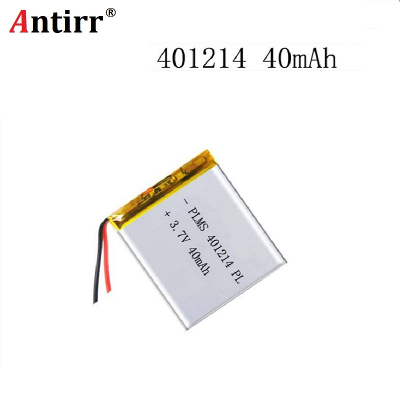 3.7 Polymer Lithium Battery 401214 Bluetooth Battery Electronic Pen Li-ion Cell