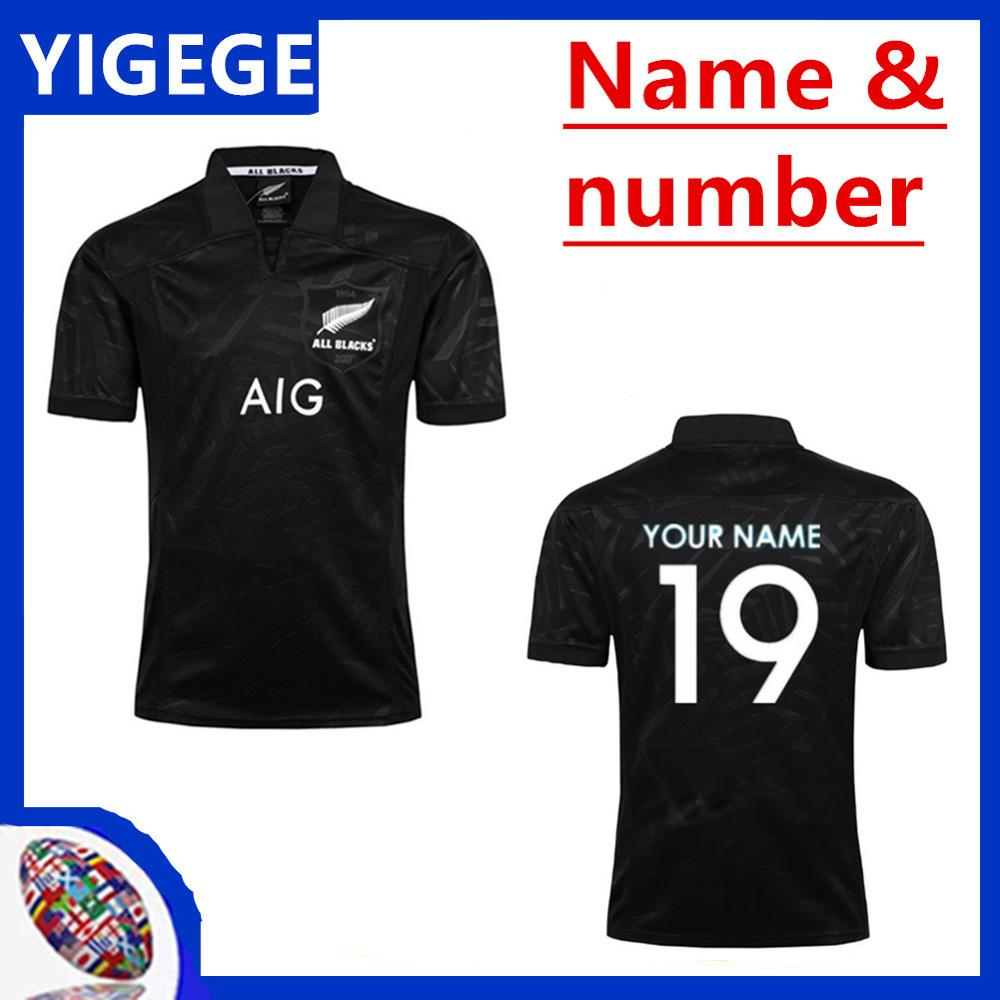 a9b1d946ba1 New Zealand All Blacks Rugby Jersey Shirt 2017 2018 2019 Season, All Blacks  Mens Rugby