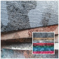 Flash Fold Style Camouflage 0 7 Mm PVC Synthetic Leather Fabric 22 Smooth Surface For Decorative