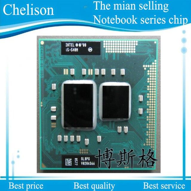 Новый i5-540M SLBPG I5 540 М 2.53-3.06 Г/3 М Чипсет Процессор