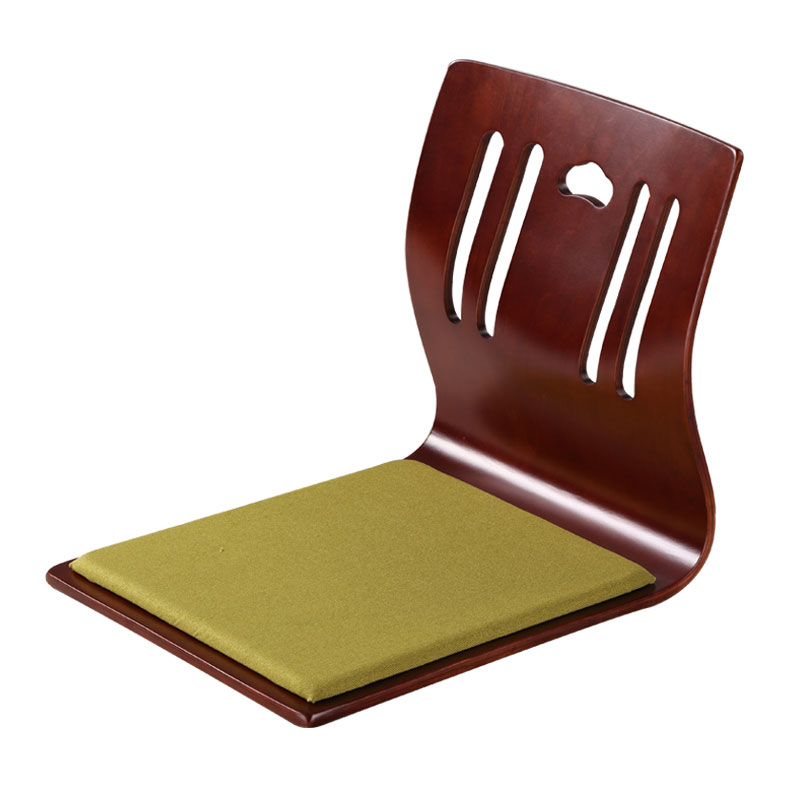 (4pcs/lot)Japanese Zaisu Chair Design Fabric Cushion Seat Asian Living Room Furniture Tatami Zaisu Floor Legless Chair Wholesale free shipping dining stool bathroom chair wrought iron seat soft pu cushion living room furniture