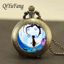Steampunk jewelry chain watch