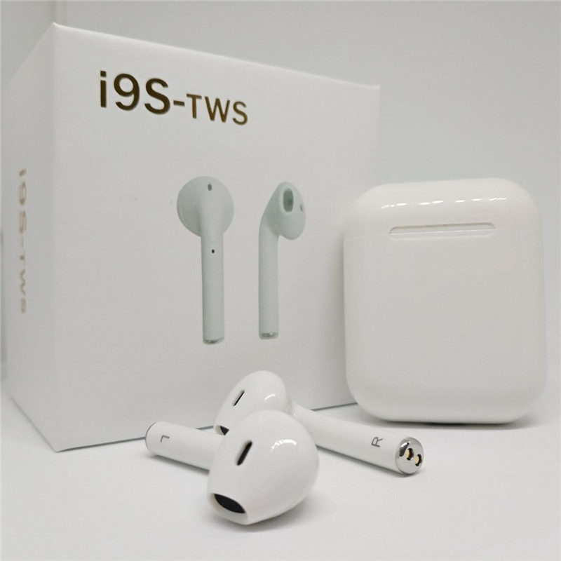 I9S TWS Wireless Earphone Portable Bluetooth Headset Invisible Earbud for IPhone X 8 7 Plus For Xiaomi Mobile Android Phones vasos sanitários coloridos