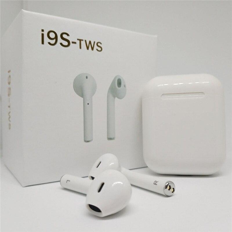 I9S TWS Auricolare Senza Fili Portatile Auricolare Bluetooth Invisibile Auricolare per Il Iphone X 8 7 Plus Per Xiaomi Telefoni Cellulari Android