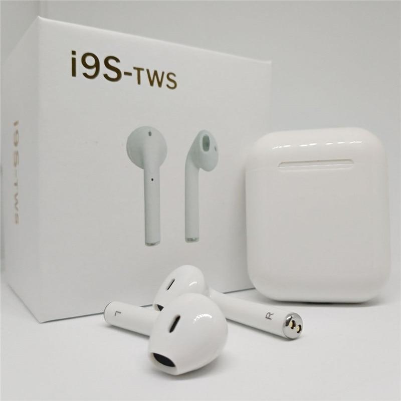 I9S TWS Drahtlose Kopfhörer Tragbare Bluetooth Headset Unsichtbare Ohrhörer für IPhone X 8 7 Plus Für Xiaomi Mobile Android Handys