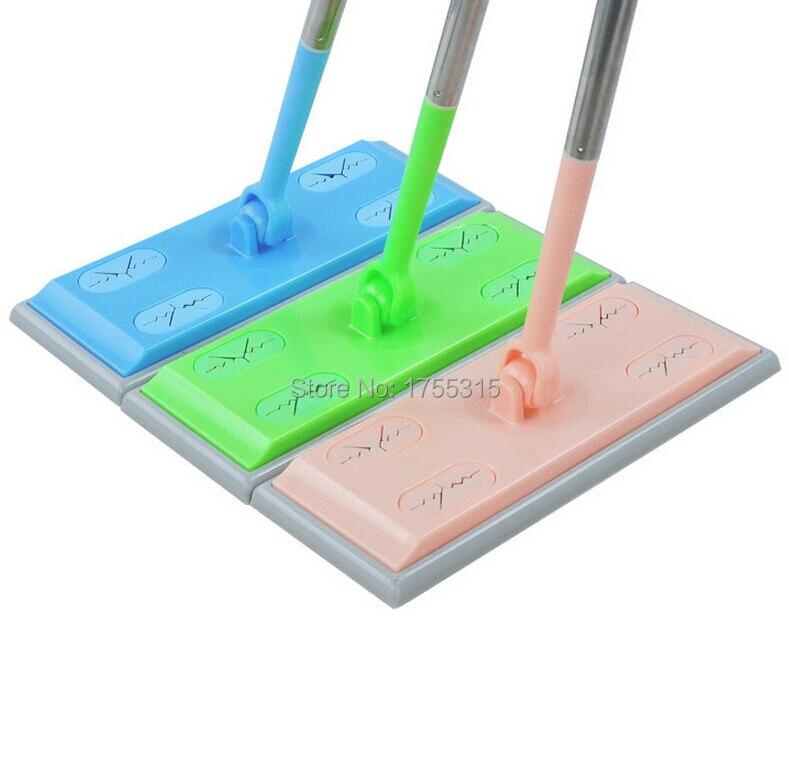 Anti Static Mop : Dust foldable mop flat rotation type anti static