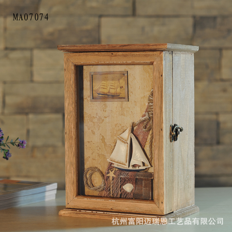European Style Wooden Box Storage Key Box CD Washed White Home Furnishing Decorative Wall Decoration Home Crafts FurnishingEuropean Style Wooden Box Storage Key Box CD Washed White Home Furnishing Decorative Wall Decoration Home Crafts Furnishing