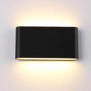 6 Вт/12 Вт Светодиодный Уличный настенный светильник IP65 водонепроницаемый настенный светильник для помещений светодиодный светильник для л...