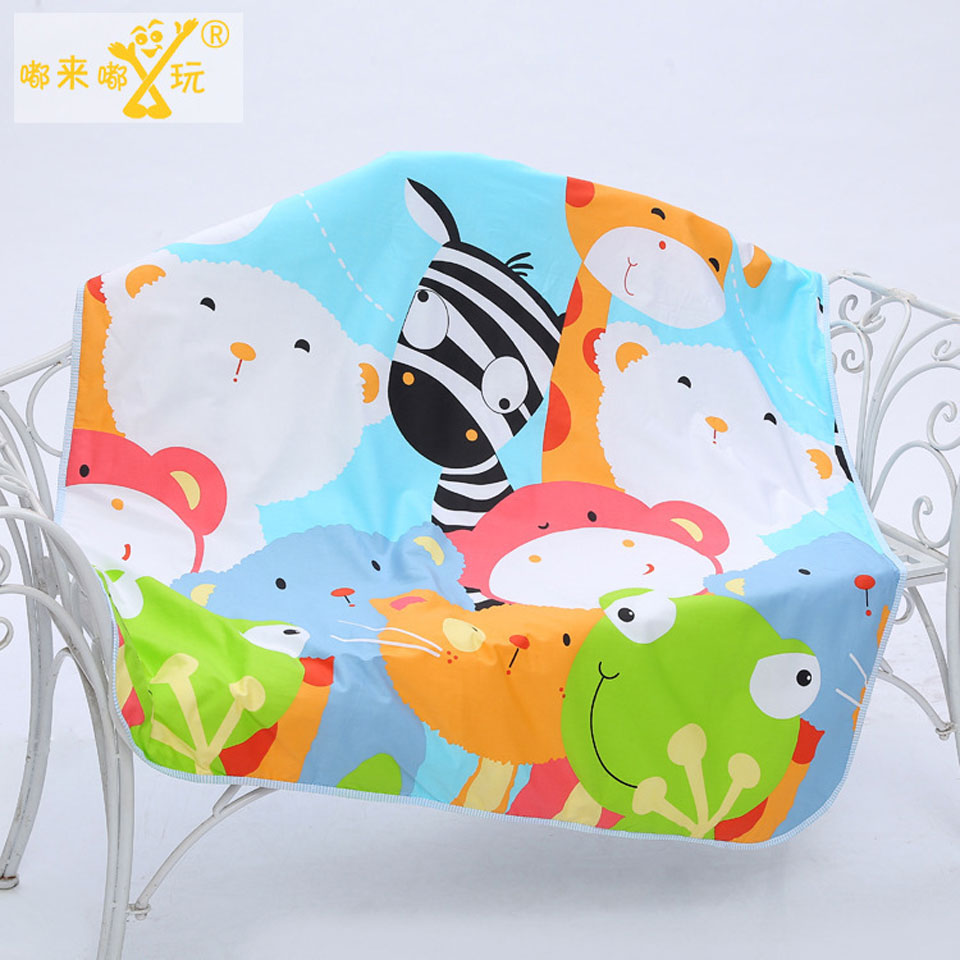 110*158cm Baby Changing Pad Infant Child Bed Waterproof Newborn Diaper Crib Reusable Cotton Durable Washable Urine Mat Cover