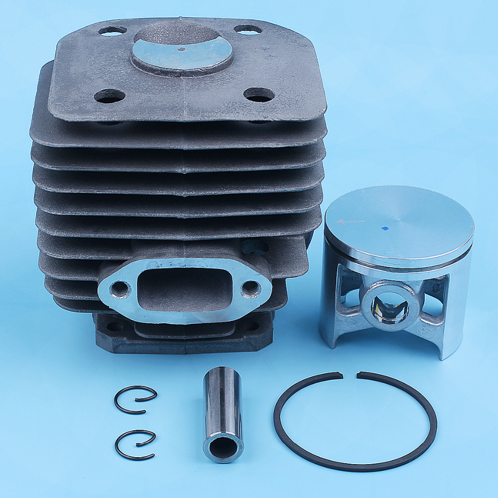 11 48mm  Nikasil 503 Cylinder Kit Piston 262 262XP Replace For Pin Ring 72 54 Husqvarna 503541171 Chainsaw  Part Coated 261