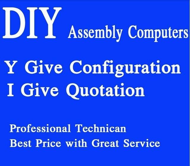 Hot Sale Diy Host Computer, Server, Compatible Computers,home Office Assembled Desktop Mini Pc, Xeon Server