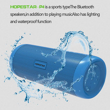 Smart Bluetooth Speakers super bass stereo Outdoor Portable waterproof Design phone HD call Lighting Mobile Power TF Card FM