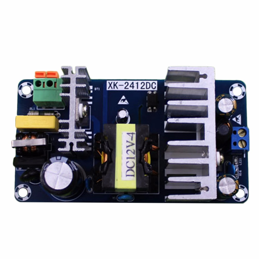 Switching Power Supply Module Board AC 85-265V to DC 12V 8A AC/DC 50/60Hz Double-side PCB nes series 12v 35w ul certificated switching power supply 85 264v ac to 12v dc