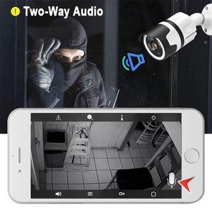 Image 4 - Hjt wifi ip 카메라 h.265 5.0mp p2p sd 카드 슬롯 3ir 나이트 비전 cctv 카메라 야외 방수 모션 감지 onvif 2.1