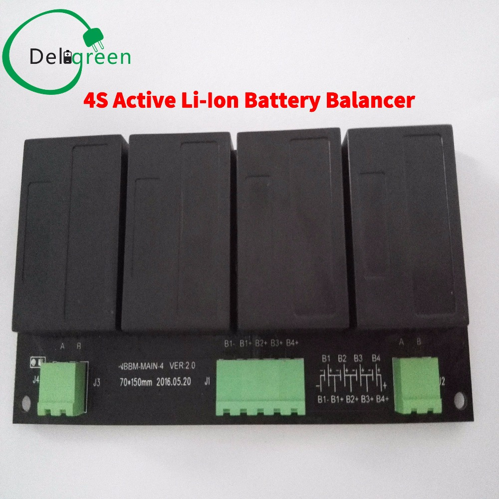 QNBBM 4S12V  lithium battery balancer equalizer BMS for 3.2V 3.7V LIFEPO4,polymer battery 12V24V36V48V72V144V192V288V etc