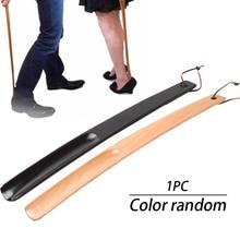 Ношение дома деревянные спортивные для ботинок ложка тяга обуви рог висячая петля прочная длинная ручка отель запах Устойчив случайный цвет