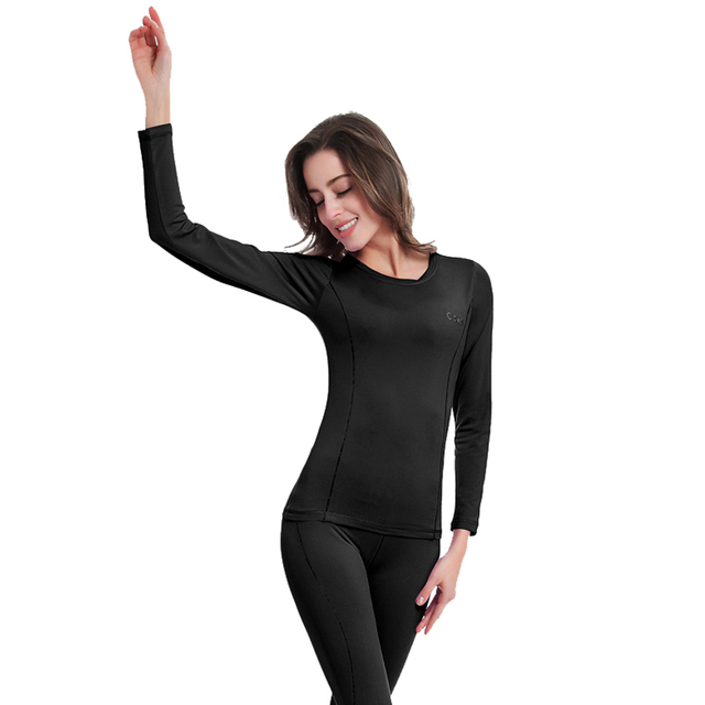 Women Long Johns Cycling Base Layers Quick Dry Cycling Thermal Underwear For Riding/Climbing/Cycling