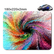 2016 products DIY 3D printing colorful windmill Custom Mouse Pad Custom Rubber Gaming Laptop Computer Tablet Mouse Pad As Gift