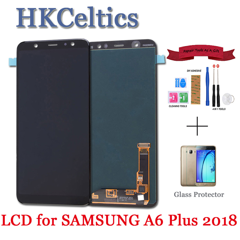 For SAMSUNG Galaxy A6 2018 A600 A600F A600FN LCD Display and Touch Screen Digitizer Assembly Replacement part For Samsung A6 LCD
