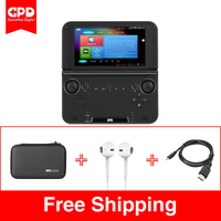 New Original GPD XD Plus 5 Inch 4 GB/32 GB Android/Linux 7.0 CPU MT8176 Hexa core Handheld Game Laptop ( Black )