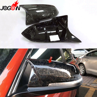 AN Forged Carbon Fiber For BMW 1 2 3 4 Series F20 F21 F22 F30 F31 F32 F33 f36 X1 E84 F87 M2 Side Wing Mirror Cover Shell Replace