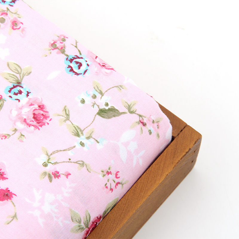 2016 hot sale 50x160cm floral cotton fabric sewing fabric for Sewing material for sale