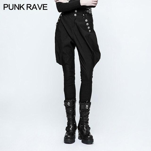 Taille Militaire Uniforme Gothique PUNK Mode Haute Femmes RAVE Punk xwaqn0X71