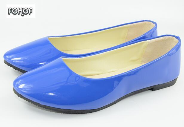 Patent Leather Slip On Shoes For Women Ballet Flats Shoes Woman Espadrilles Women Pointed Toe Flats Loafer Women Tenis Feminino drfargo spring summer ladies shoes ballet flats women flat shoes woman ballerinas pointed toe sapato womens waved edge loafer