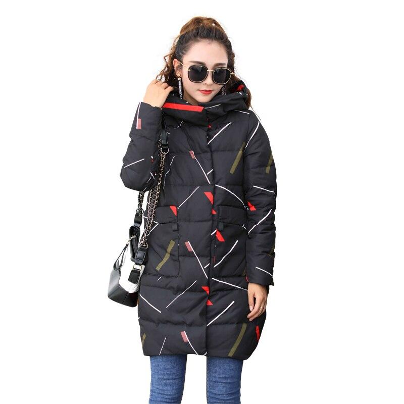 HETOBETO Winter Coat Women Jaqueta Feminina Inverno Hooded   Parkas   Winter Jacket Women Chaquetas Mujer