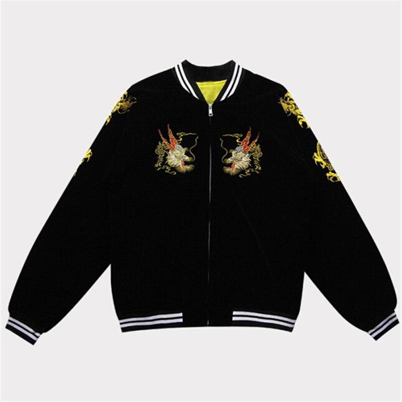 nuevo concepto 0d077 4cff5 2019 Otoño Invierno Harajuku mujeres hombres chaqueta ...