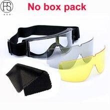 467eae7113f29 Militar do exército Óculos X800 Óculos Táticos Paintball Oculos Airsoft  Caça Paintball WarGame Óculos À Prova