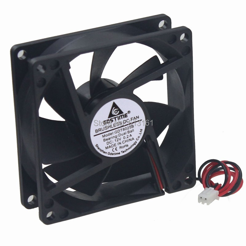 80mm ball fan 12v 2