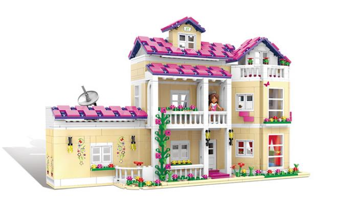 NEW XINGBAO 12006 City Girl Series 1334Pcs The Happy Dormitory Set Building Blocks DIY Bricks Educational Funny Kids Toys Gift купить