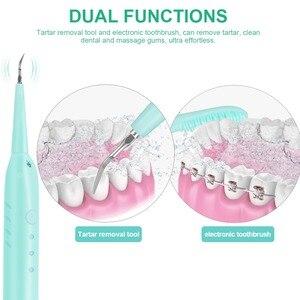Image 3 - נייד חשמלי סוניק שיניים Scaler שיניים תחשיב מסיר כתמי אבנית כלי רופא שיניים Blanqueador שיניים בריאות היגיינה
