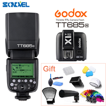 Godox TT685N 2.4G HSS i-TTL GN60 Wireless Flash + X1T-N TTL Trigger for Nikon D800 D700 D7100 D7000 D5200 D5100 D70S D810 D90