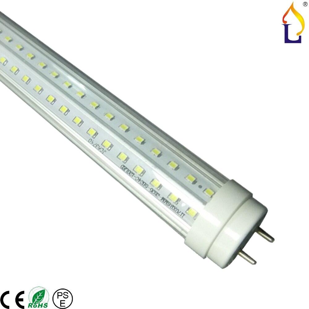 8 Ft 2 Lamp Fluorescent Strip Light White No Ssf2964wp 8ft: 50pcs/lot 2ft 3ft 4ft 5ft 6ft 8ft 20W 60W T10 Led Tube