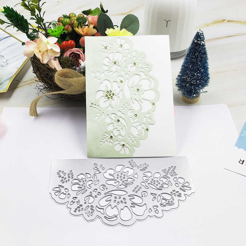 2019 new Craft metal cutting dies cut die mold Flower decoration Scrapbook paper craft knife mould blade punch stencils dies