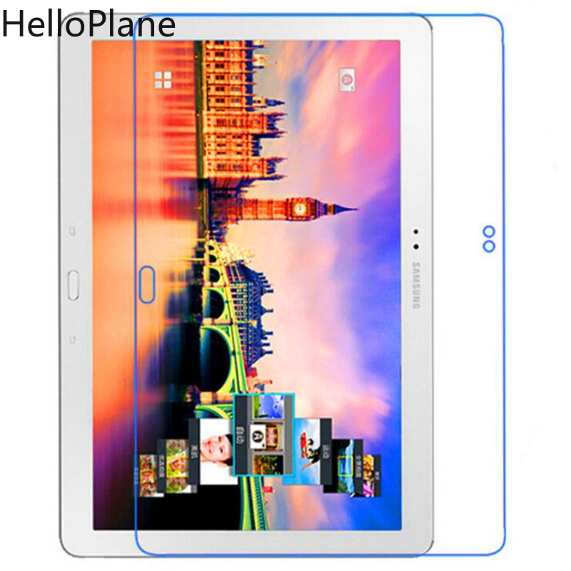 Tempered Glass For Samsung Galaxy Tab Note Pro 12.2 inch P900 P901 P905 SM-P900 Tablet Screen Protector Film protective 360 degree rotation pu leather case for samsung galaxy note pro12 2 p900 p905 white