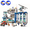 2016 NEW BELA City Series The Police Station Model Building Blocks Children S Classic Toys Compatible