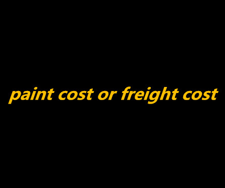 paint cost or freight cost