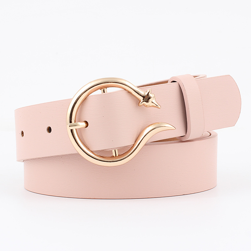 Waist   Belt   Designer Snake Black Gray Blue Red Yellow Brown Pink   Belts   for Dress Wide Fashion Jeans Female Cowboy 2019 Waistband