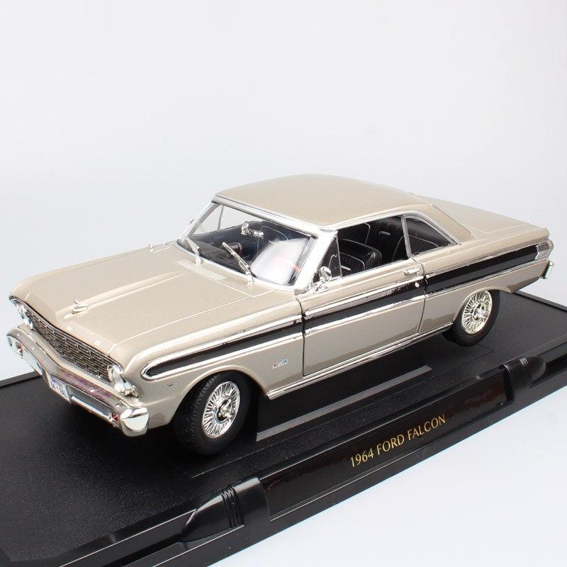 1:18 Scale classic retro Road signature 1964 FORD FALCON Sprint hardtop Diecasts & Toy Vehicles รุ่นรถยนต์ของเล่นเด็ก-ใน โมเดลรถและรถของเล่น จาก ของเล่นและงานอดิเรก บน   1