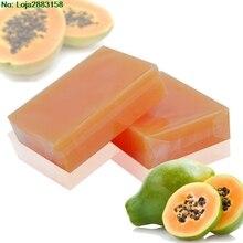 Natural Organic Herbal Green Papaya Whitening Lightening Skin Handmade Soap