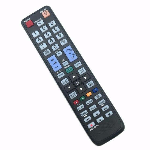 שלט רחוק מתאים עבור samsung tv AA59 00445A AA5900445A AA5900445 UA55D6600WM, UA60D6600VM