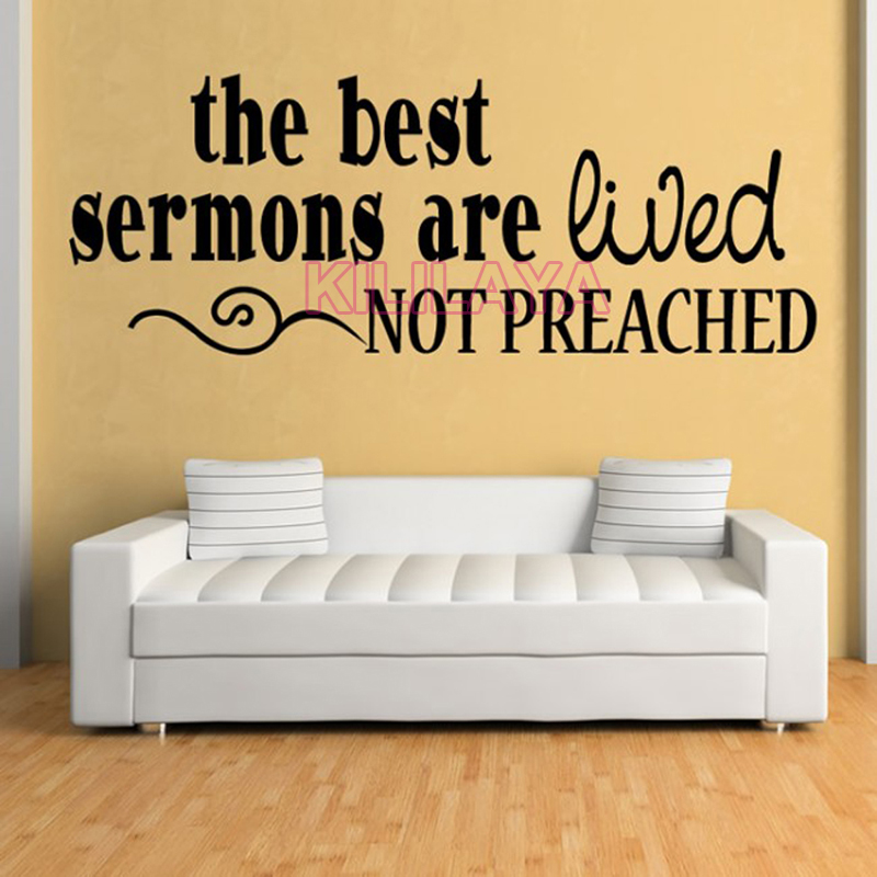 Famous Christian Vinyl Wall Art Image - Wall Art Collections ...