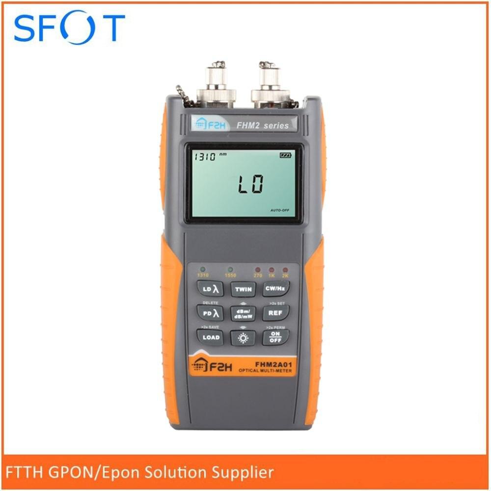 Mètre optique de Fiber optique de multimètre de Grandway FHM2A01 + Source lumineuse optique 1310/1550nm