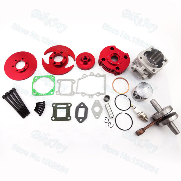 47cc 49cc Mini Moto Pocket Bike Motor Engine  44mm Racing cylinder Big Bore Kit