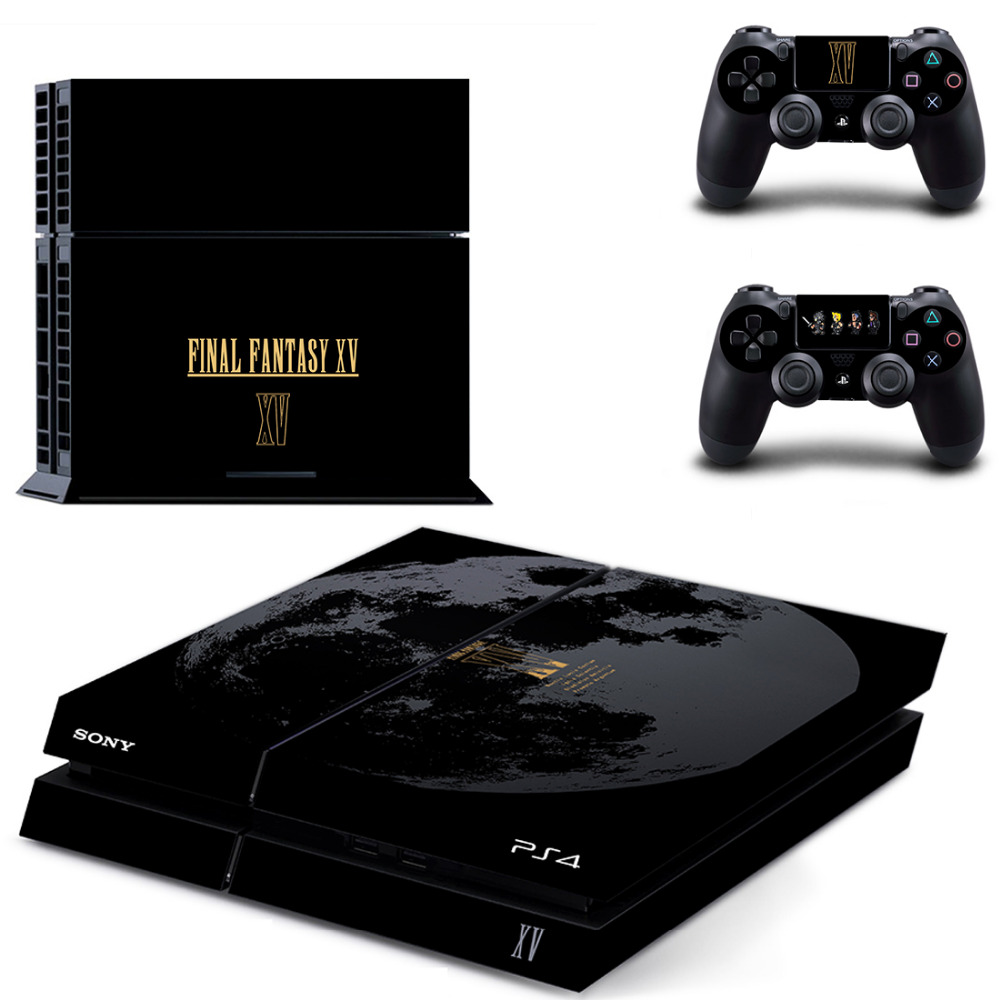 Game Final Fantasy XV 15 PS4 Skin Sticker Decal for Sony PlayStation 4 Console and 2 Controller Skin PS4 Sticker Vinyl Accessory image