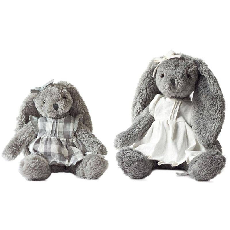 32/45cm Rabbit Stuffed Animal Anne Abby Cartoon Plush Toy Cute Bear Doll for Kids Baby Christmas Birthday Gifts Baby Playpens
