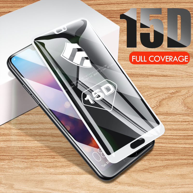 Image 5 - ZNP 15D Screen Protector Tempered Glass For Huawei P20 P10 Lite Plus Protective Glass For Huawei P20 Pro Mate 20 10 lite Film-in Phone Screen Protectors from Cellphones & Telecommunications